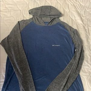 Columbia light weight hoodie